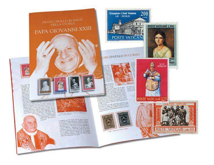 I francobolli di Giovanni XXIII