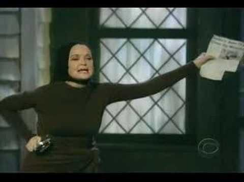 """Christine Ebersole sings """"The Revolutionary Costume for Today"""" from the Scott Frankel/Michael Korie musical Grey Gardens, based on the 1975 documentary of the same name. She won a Tony for this performance, and watching this, I believe she deserved it."""