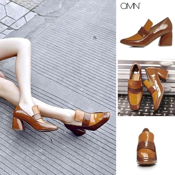 Pump - Loula - $101.99 @shoesofexception #trendy #roundtoes #squareheels #women #pumps