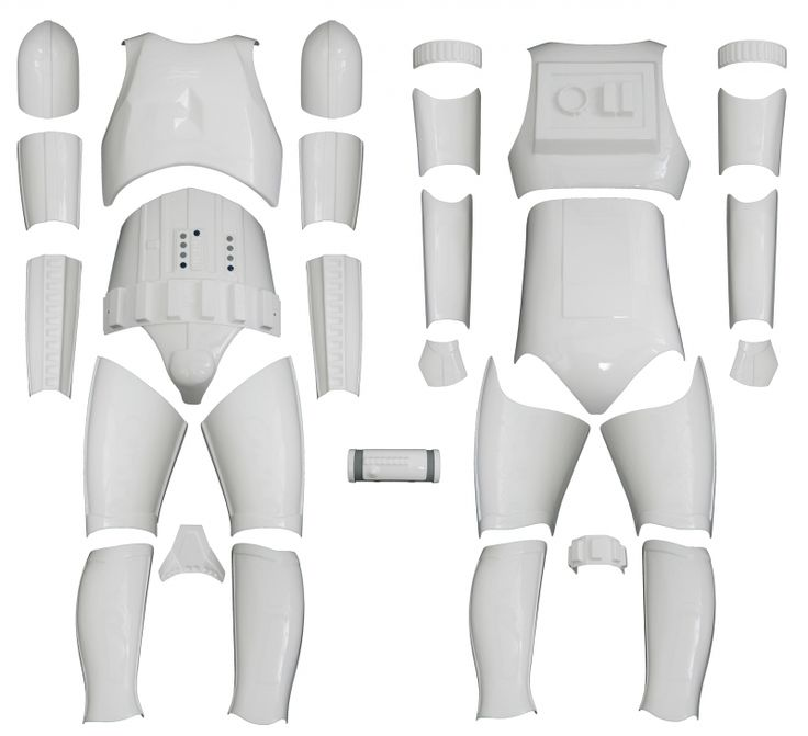 Stormtrooper-costumes.com : KIT VERSION 1 WITHOUT HELMET - Star Wars Stormtrooper Armour