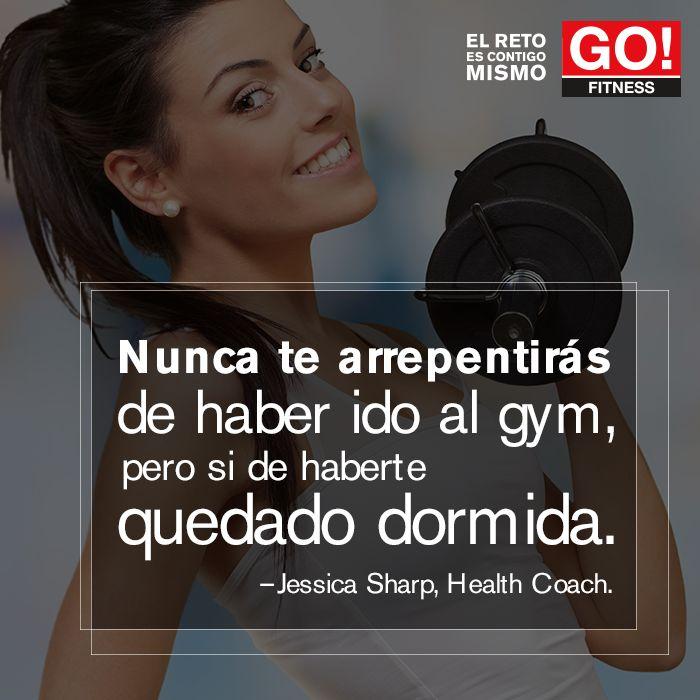 Jessica Sharp #gofitness #clasesgo #ejercicio #gym #fit #fuerza #flexibilidad #reto #motivate #frases #jessicasharp
