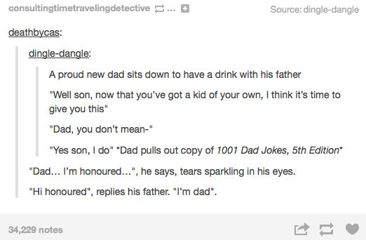 I can just imagine my father doing this to my husband when we have kids.  XD  I may actually have to suggest this as a new family tradition...
