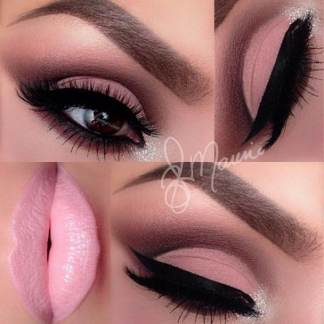 Feb 13, 2020 - Pink Wedding - Soft Pink Makeup By Ely Marino #2189484 | Weddbook.com