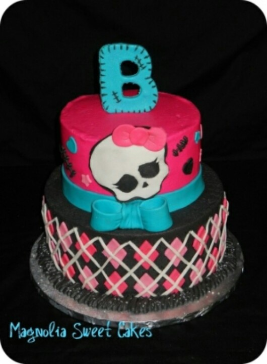 Pictures Of Monster High Cakes