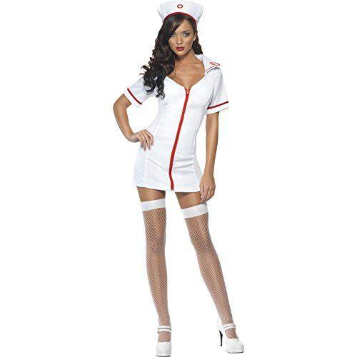Damen Sexy Krankenschwester Kostüm ca 19€  Kostüm-Idee zu Karneval, Halloween & Fasching