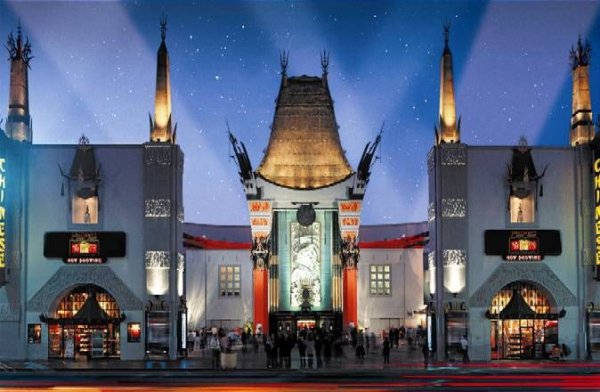 Grauman's Chinese Theatre: Hollywood This and much more in Hollywood, with grandkids June 2013