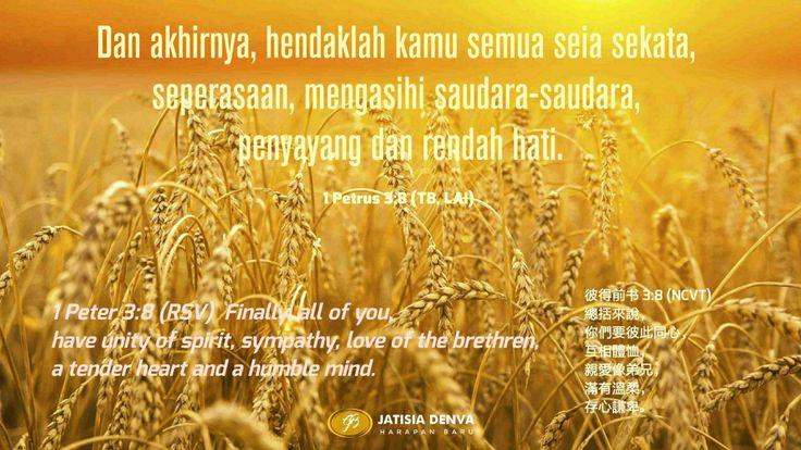 Kerendahan hati adalah buah dari pengenalan akan Allah dan diri sendiri.