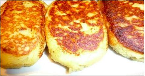 Ингредиенты: 500 гр-.нежирной свинины ; 1, 5 кг-картофеля; 1- луковица ; 50 гр.сливочного масла 1/2 стакана муки 100 гр.растительного масла для обжарки зраз соль, перец — по вкусу  Приготовление: Свиную мякоть пропускают через мясорубку, добавляя соль и перец по вкусу. Лук измельчают, и обж