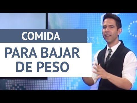 Comida para bajar de peso / Entrenador José - YouTube