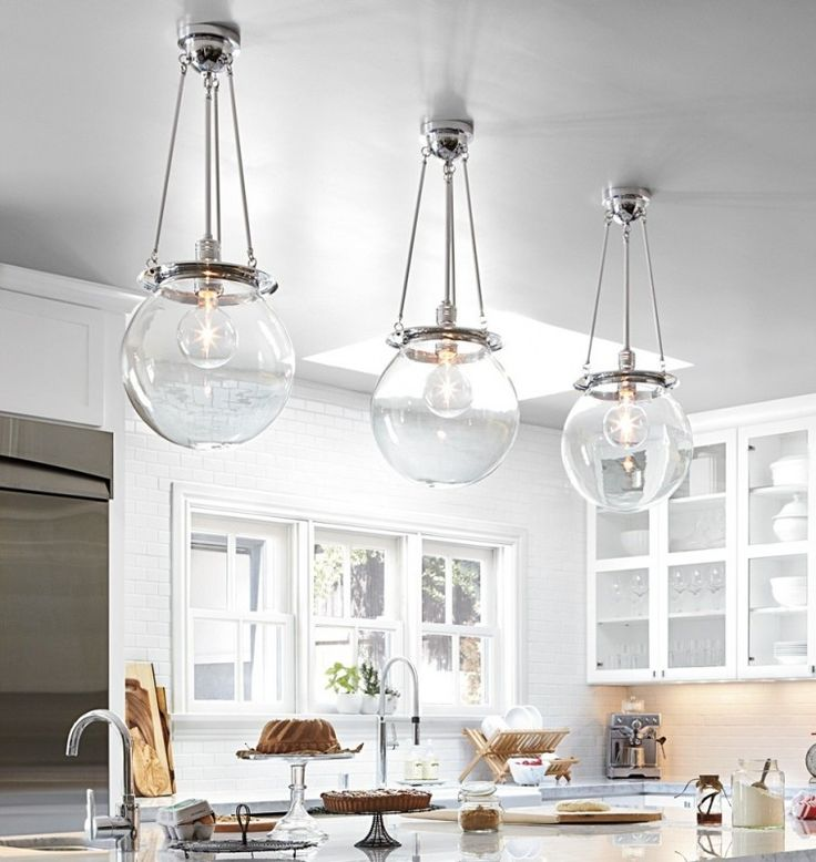 Hanging Kitchen Lights Over Island: Best 25+ Globe Pendant Ideas On Pinterest