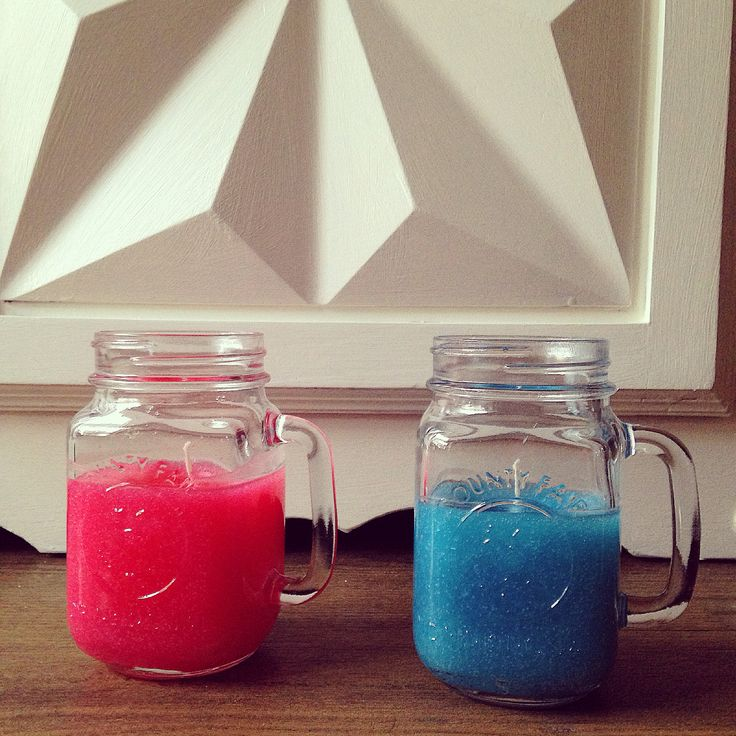Red and blue #cococandle