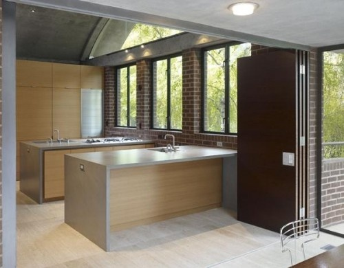 I've been toying with the multiple island kitchen for a few weeks now, I really like how this was pulled together. modern kitchen by Ogrydziak/Prillinger Architects.