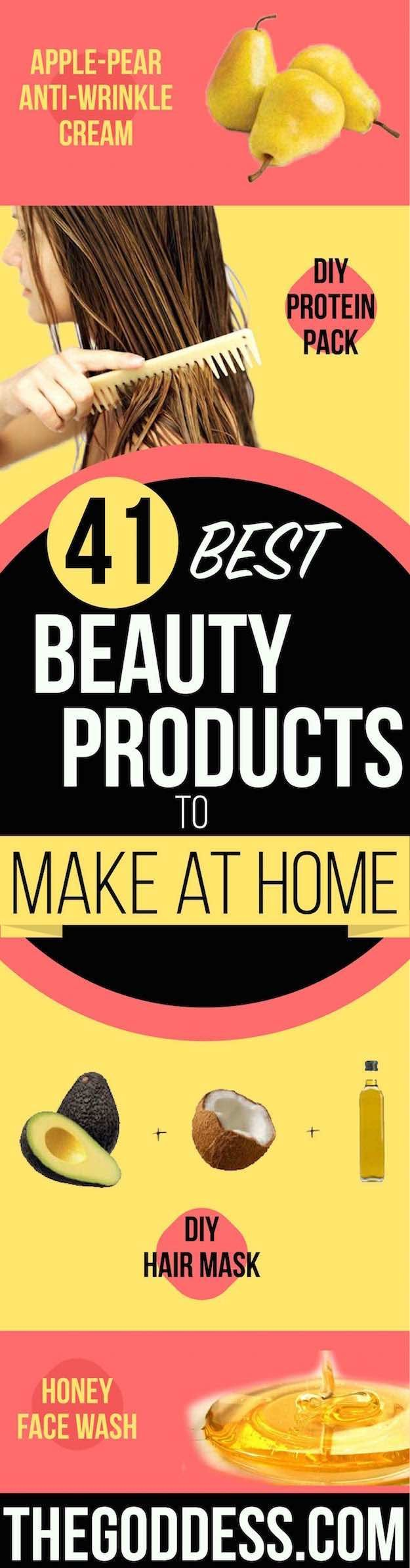 Best Beauty Products to Make at Home - Simple DIY Recipes and Tutorials for Essential Oils, Shaving Cream, Sugar Scrubs, Body Butter, Bath Bombs and Hand Soaps - Natural Anti Aging Remedies That Use Aloe Vera, Baking Soda, Water, Coonut Milk and more! -