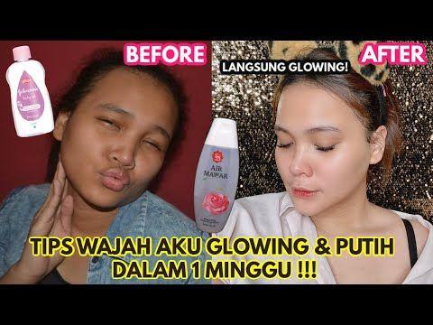 Cara Bikin Wajah Putih Glowing Permanen Dalam 1 Minggu Dinda Shafay Youtube Pemutih Kulit Wajah Perawatan Kulit