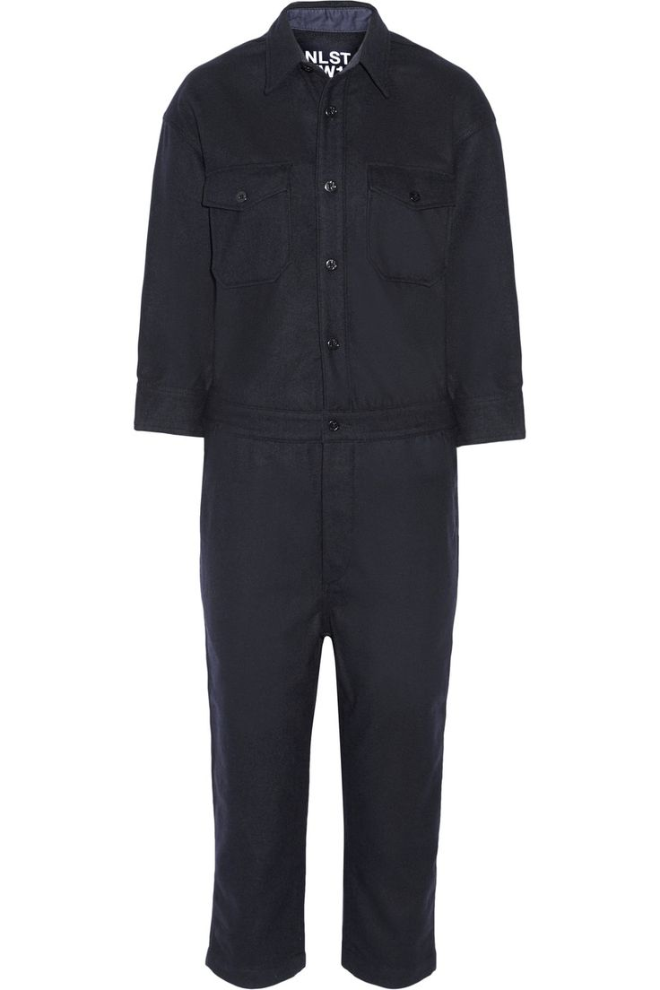 Shop on-sale NLST Wool-blend jumpsuit. Browse other discount designer Jumpsuits & more on The Most Fashionable Fashion Outlet, THE OUTNET.COM