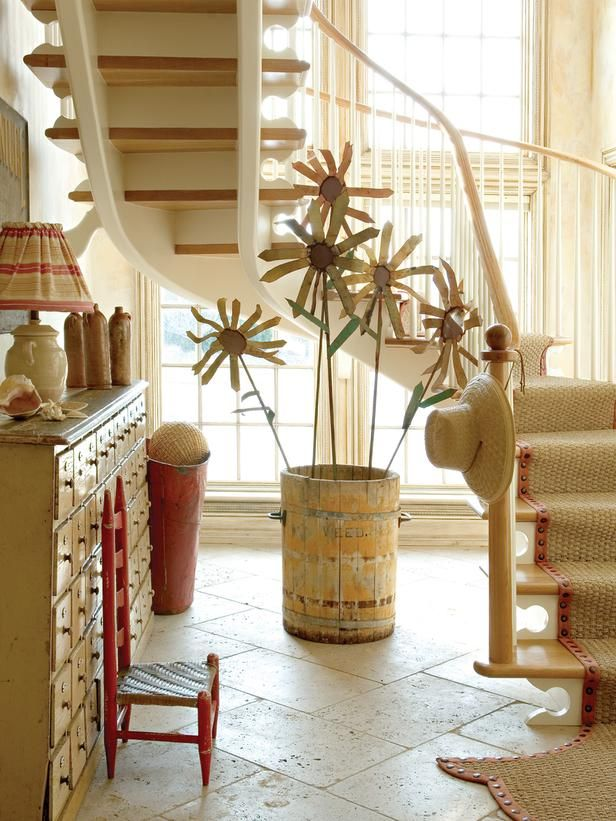Eclectic Entryways from Barry Dixon on HGTV