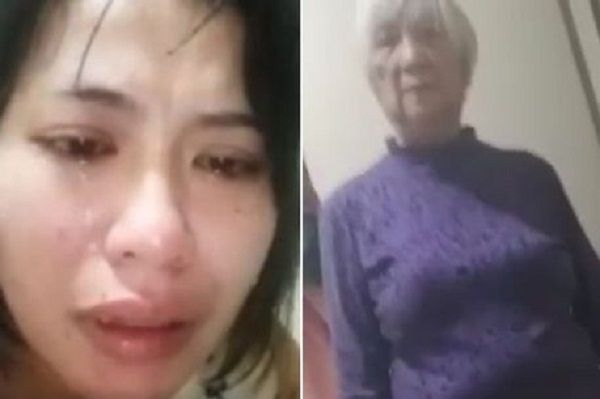 The 35-year-old domestic worker used her smartphone to film her boss, 79, identified only by her surname Pang, slap her repeatedly