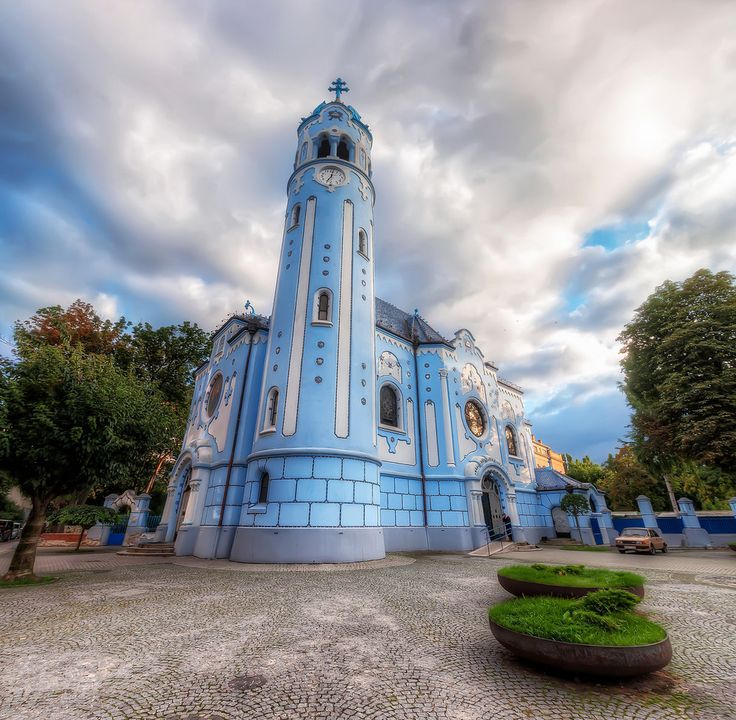 Blue church (St. Elizabeth church), Bratislava