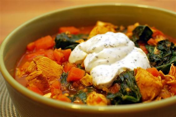 Chicken & Spinach curry SYN FREE