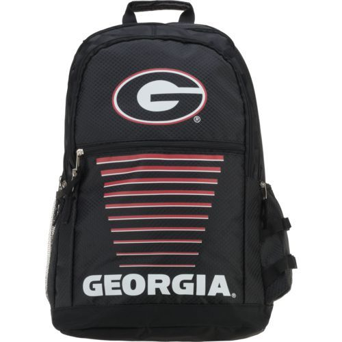 Forever Collectibles University of Georgia Gradient Elite Backpack (Black, Size ) - NCAA Licensed Product, NCAA Novelty at Academy Sports