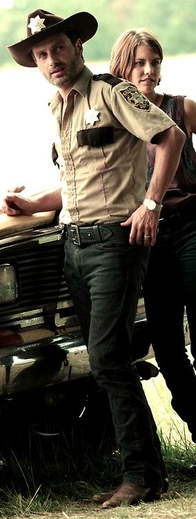 Rick Grimes: wearing the same clothes for two seasons.  Love him!  :)
