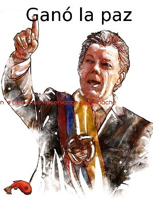 Santos reelecto presidente en Colombia y amplía las negociaciones de paz para incluir al ELN. #SiALaPaz #NoMasGuerras
