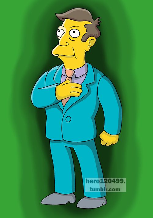"Principal Seymour Skinner from ""The Simpsons"""