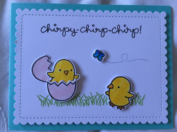 Lawn Fawn - Chirpy chirp chirp