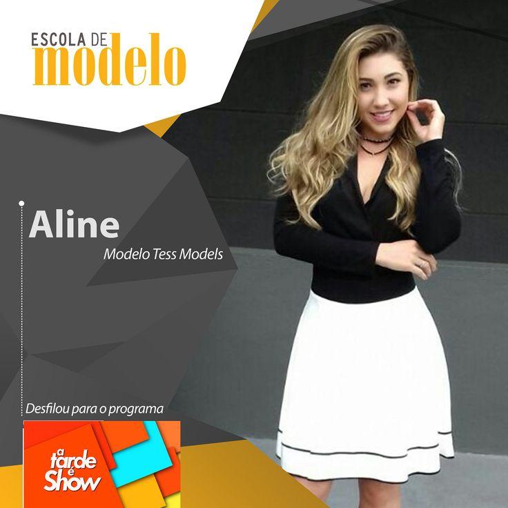 https://flic.kr/p/GQUp7P | Rede Brasil - A tarde é show - Aline | O programa A Tarde é Show da Rede Brasil aprovou mais algumas de nossas modelos para um desfile de moda. Parabéns meninas <3  #escolademodelo #modelo #passarela #teatro #desfile #maxfama #eventodemoda #catwalkbrasil #manequim #fashion #myagency #saopaulo #job #casting #marketing #vidademodelo #tendencia  #televisão #programa