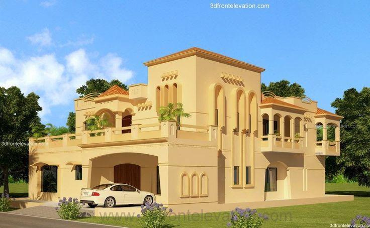 3D Front Elevation.com: Lahore 2 KanaL House Design Lahore, Dimentia