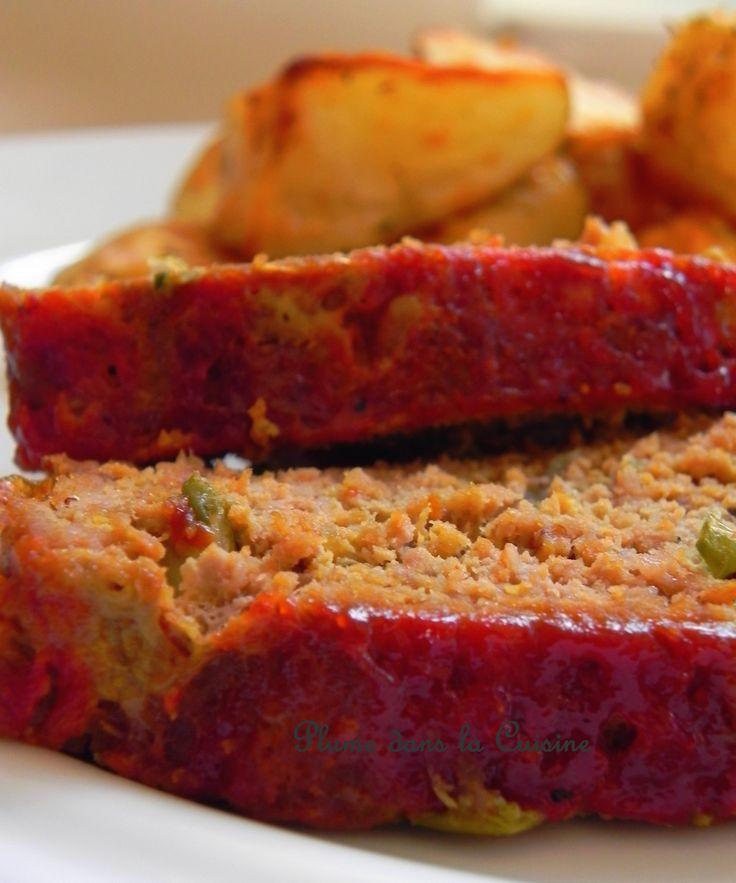 Pain de viande saveur des îles... Le pain de viande est une recette d'origine américaine (meat loaf en anglais) si je ne me trompe pas. Ce qui est bien ave
