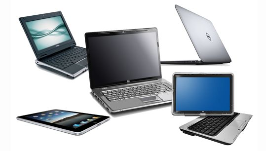 Difference Between Laptop Notebook Netbook Ultrabook and Tablet