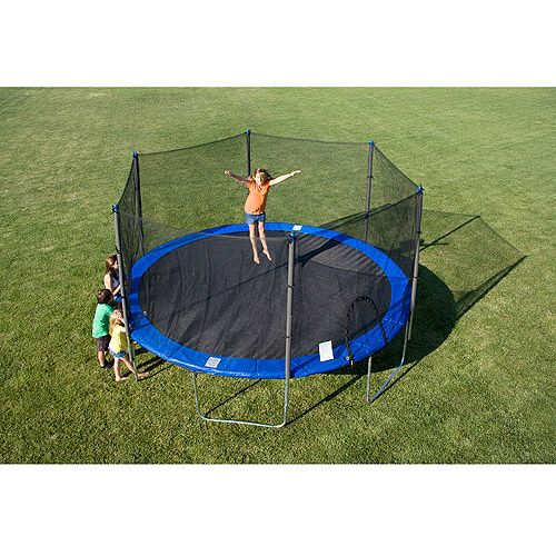 15′ Trampoline with Safety Enclosure : $199 + Free S/H