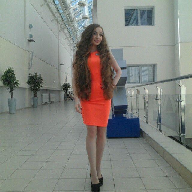 Kristina Konyashkina LONG HAIR