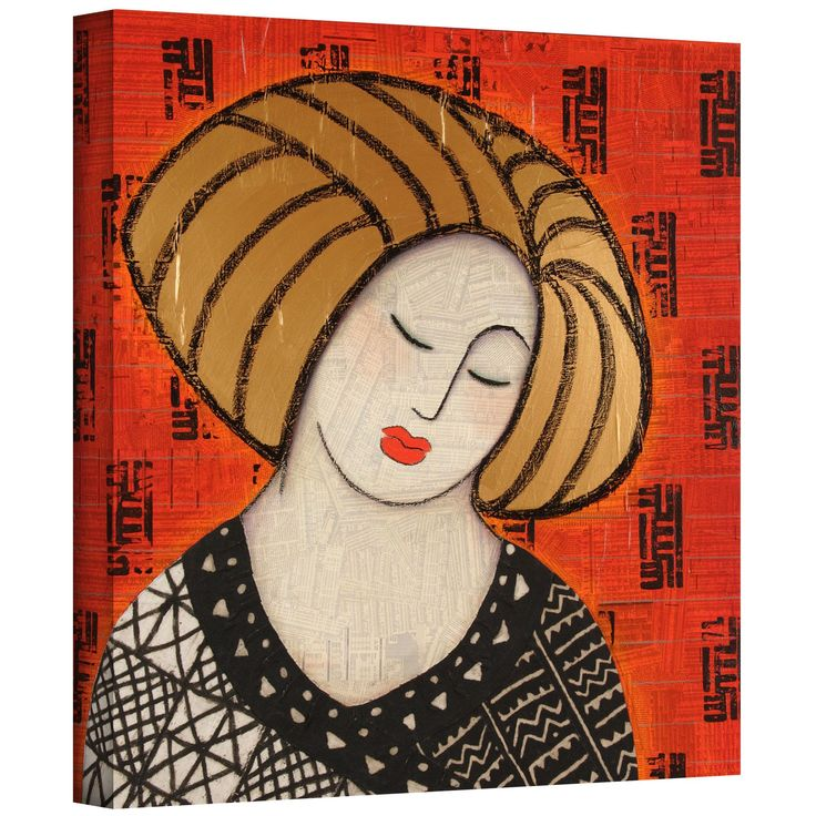 'Deeper Still' by Gloria Rothrock Painting Print on Wrapped Canvas