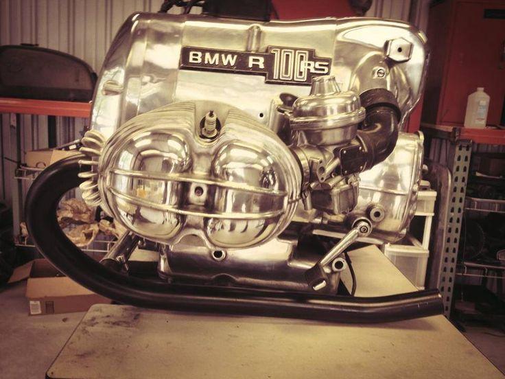 bmw airhead engine. liberty cafe bike   liberty cafe bike