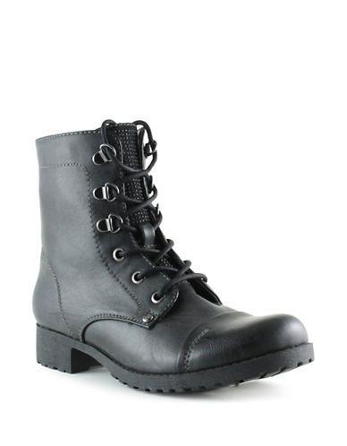 Chaussures   Chaussures femme   Baysic Combat Boots   La Baie D'Hudson