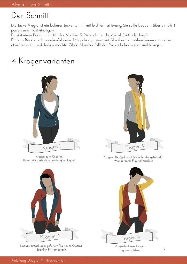 7 best Nähen - Alegra images on Pinterest | Anleitungen ...