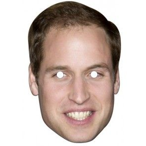 Prince William Celebrity Mask