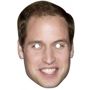 Prince William Celebrity Mask