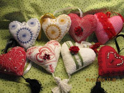 Easy to do: Nostalgic Heart Pillows
