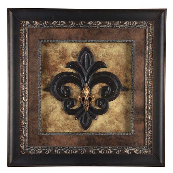 Hemispheres framed art