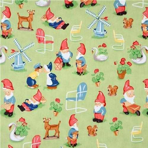 Gnomes on fabric!