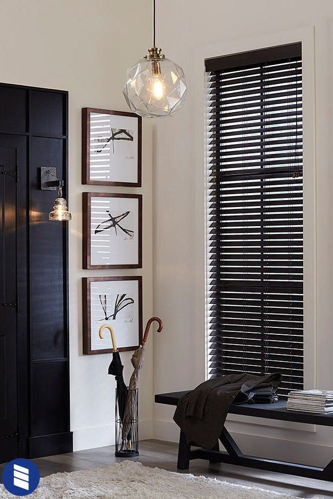 Economy Cordless 2 1 2 Inch Faux Wood Blinds Blinds Com In 2020 Wood Blinds Living Room Faux Wood Blinds Wood Blinds