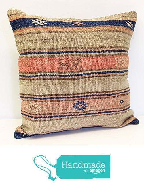 Throw Pillow cover 20x20 inch (50x50 cm) Living Room Kilim pillow cover Home Decor Boho decor Pillow cover Home decor Kilim cushion cover from Kilimwarehouse https://www.amazon.com/dp/B073ZNHS68/ref=hnd_sw_r_pi_dp_xAEBzb248379G #handmadeatamazon