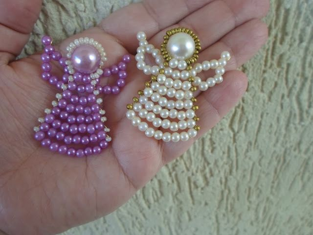 Step by step - Pearls Angel | NM Bijoux Nubia Maia
