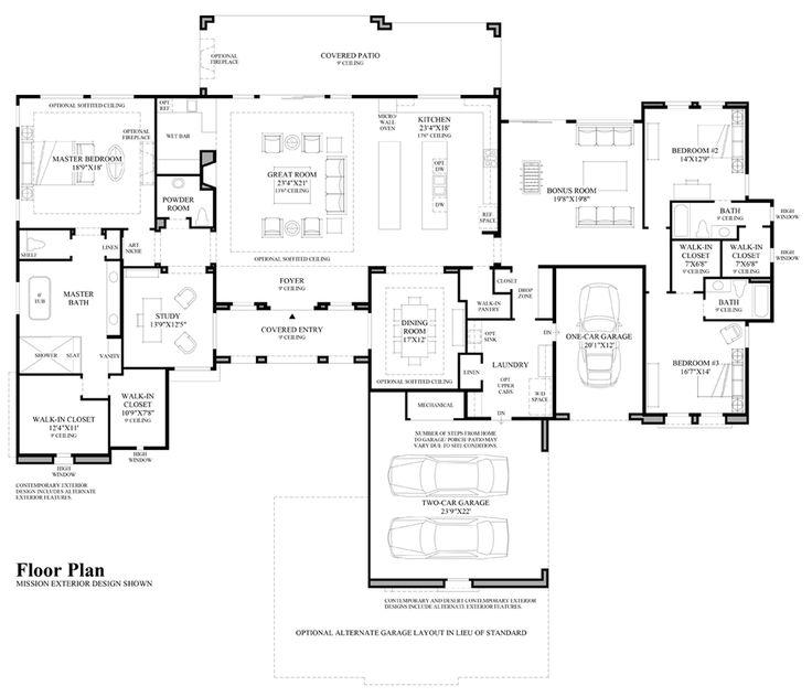 64 best House Blueprints Plans images on Pinterest Architecture - copy tucson blueprint building