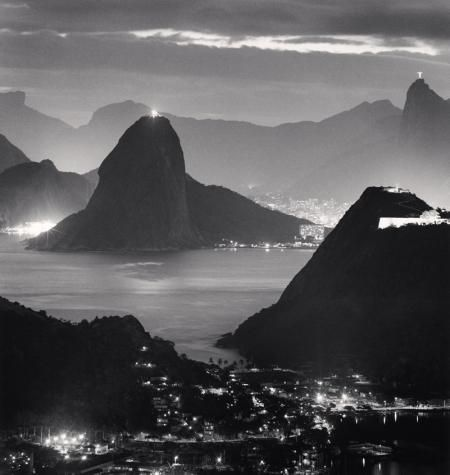 NIGHT LIGHTS, RIO DE JANIERO, BRAZIL, 2009  MICHAEL KENNA