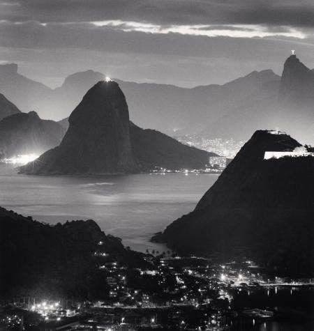 NIGHT LIGHTS, RIO DE JANIERO, BRAZIL, 2009  MICHAEL KENNA