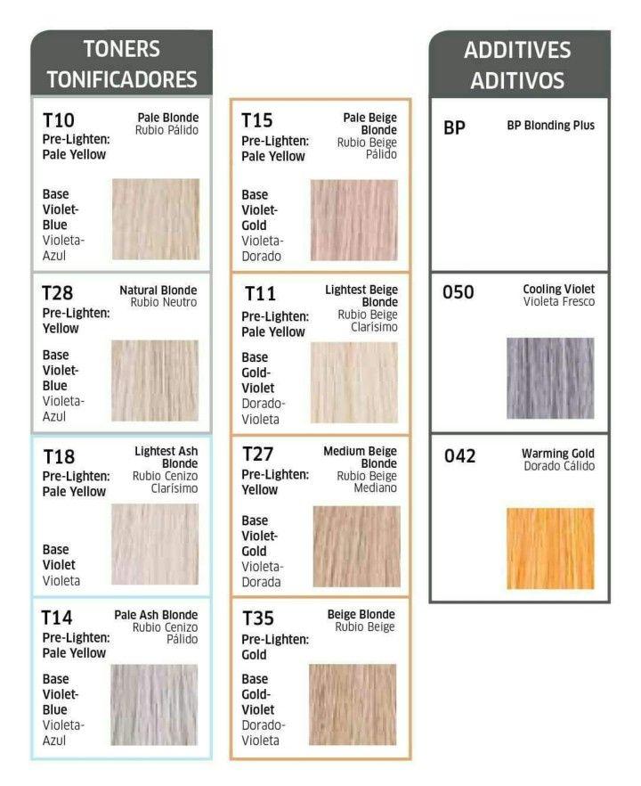 T Wella Toners Hair Toner Wella Color Charm Toner Wella Color